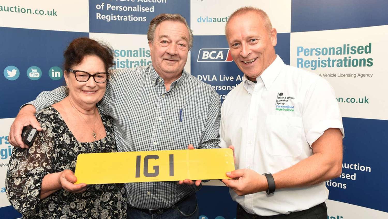 Ian Guest IG 1 plate