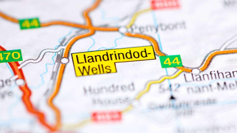 Older drivers in Llandrindod Wells