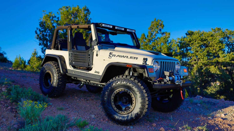 SEMA 2019 High School Build Jeeps