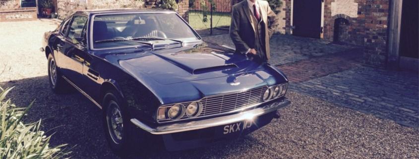 Steve Coogan selling his Aston Martin at Silverstone