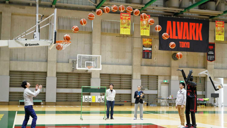Toyota basketball world record