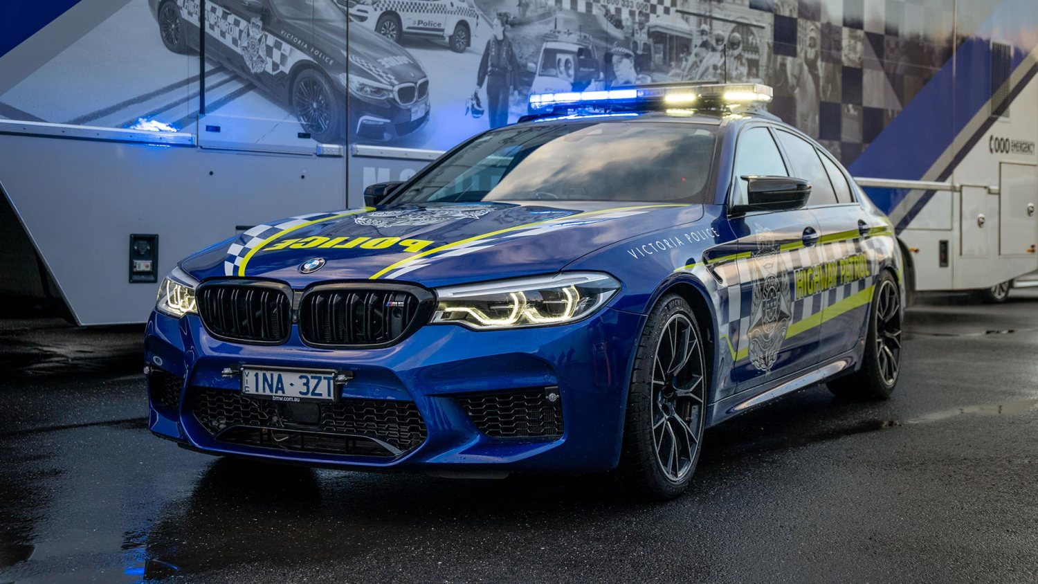 Victoria Police BMW M5 Competition