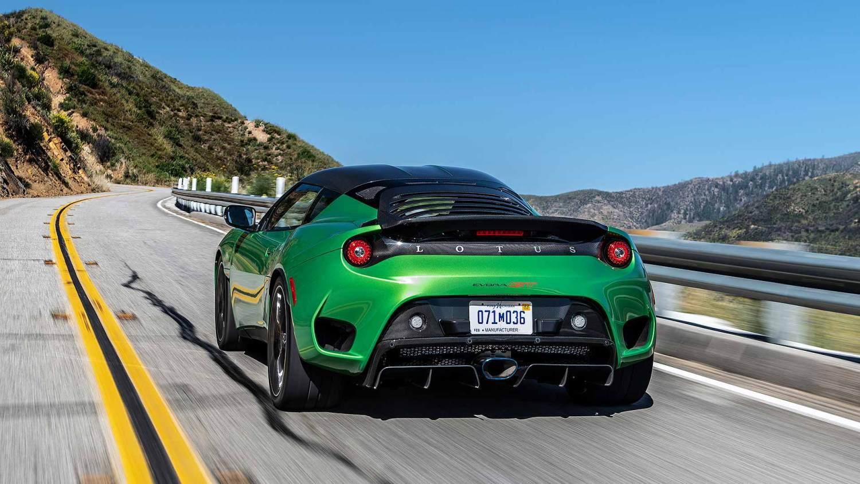 Lotus Evora GT in Vivid Green