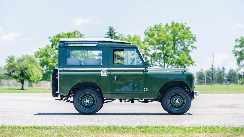 14th Dalai Lama 1966 Land Rover auction