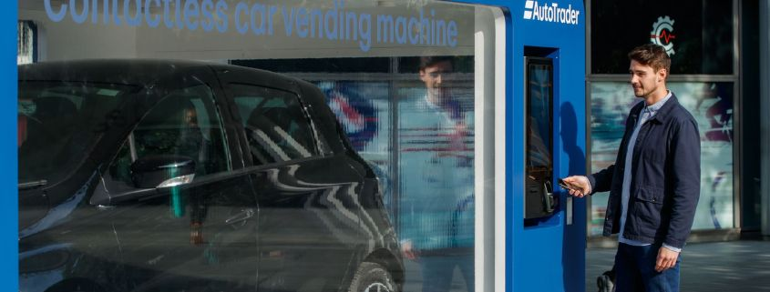 Auto Trader contactless car machine