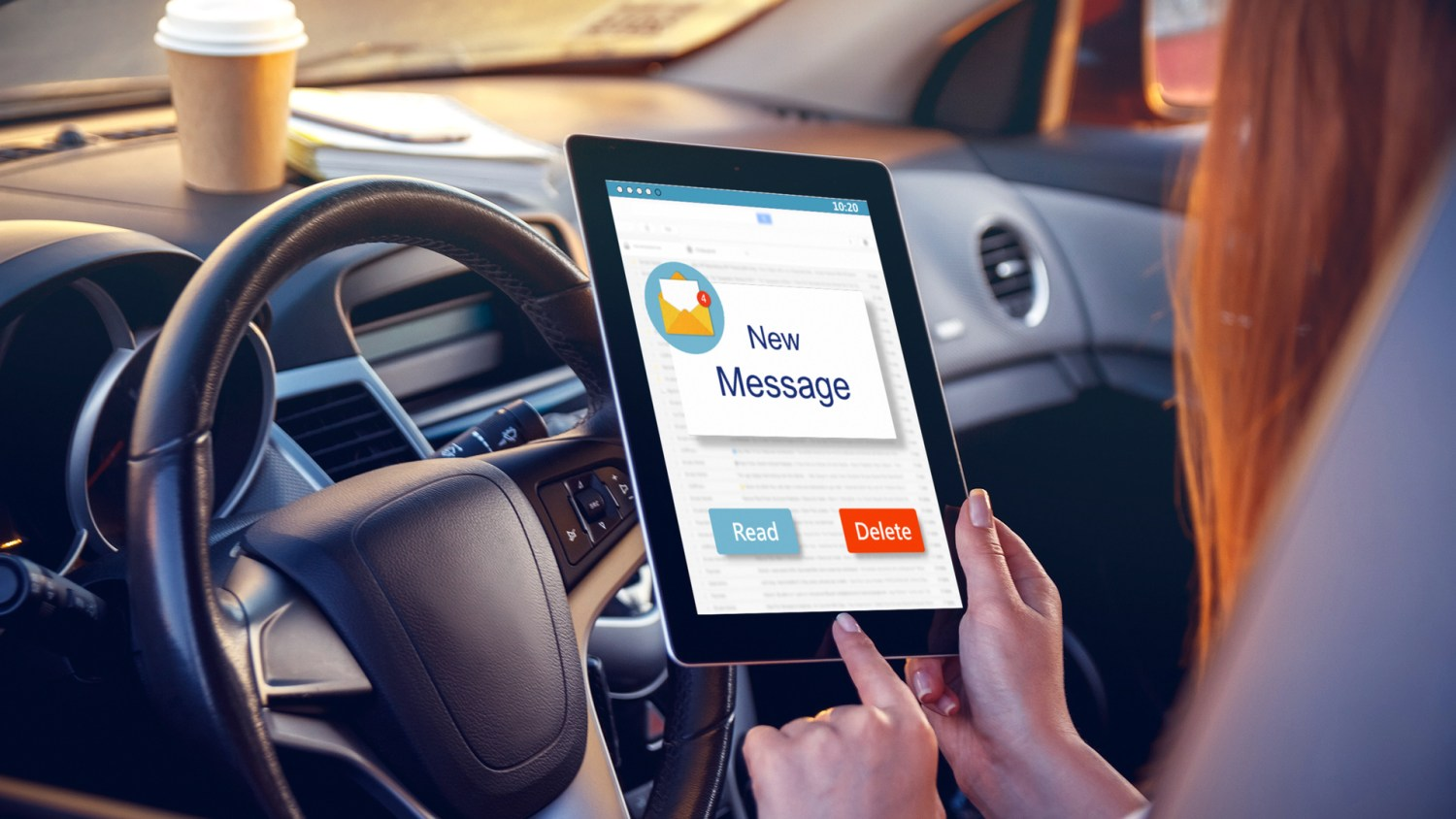 Insurance company contacts drivers
