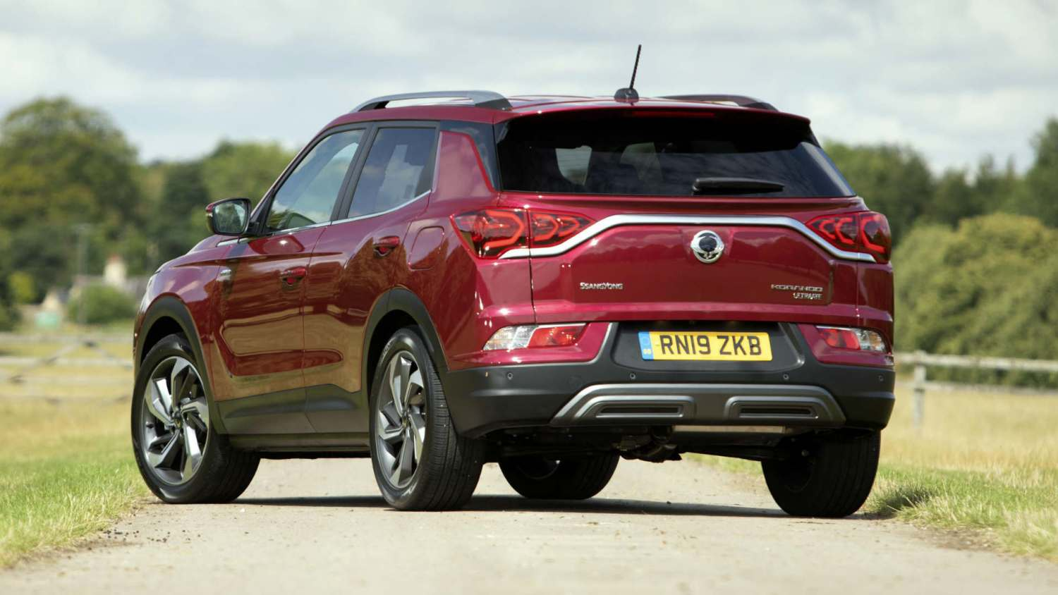 New SsangYong Korando rear