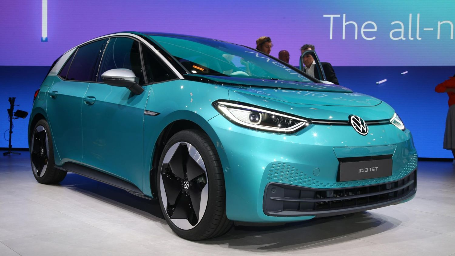 Electric cars at Frankfurt IAA