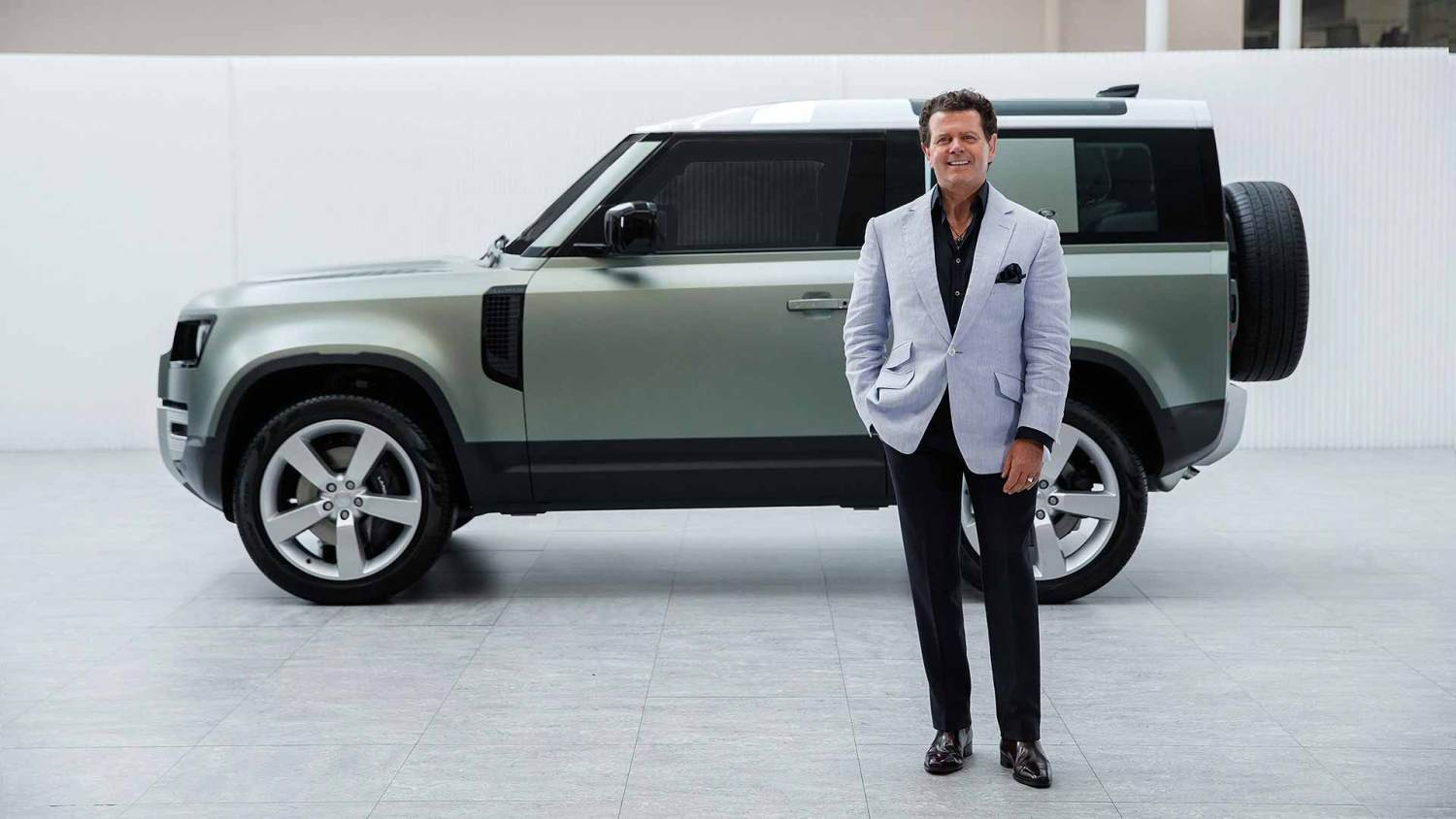 New Land Rover Defender design director Gerry McGovern