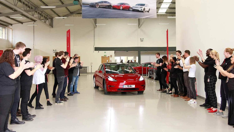 Tesla Model 3 UK deliveries
