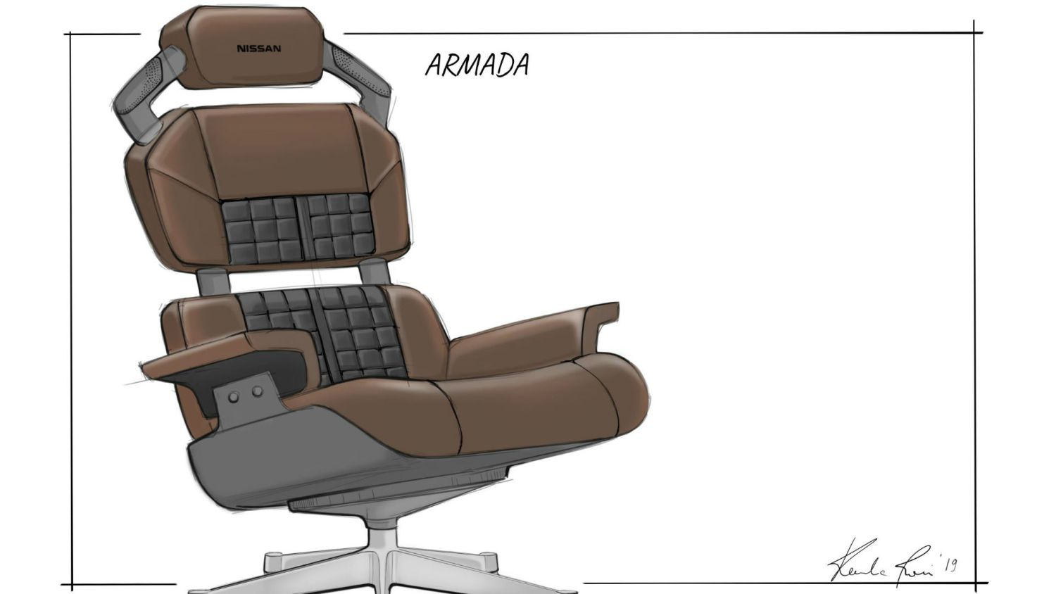 Nissan Armada gaming chair