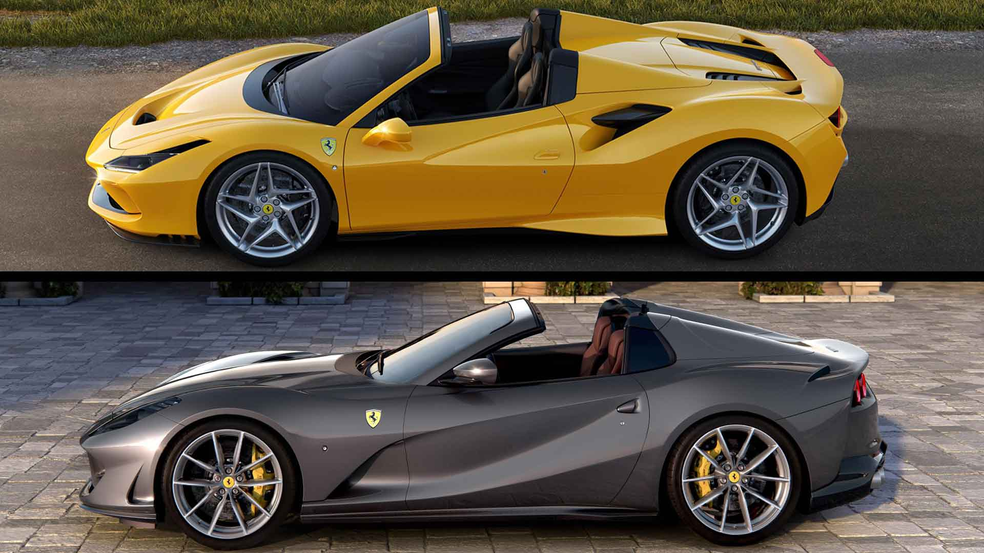 Ferrari Reveals Two New Supercars In One Morning