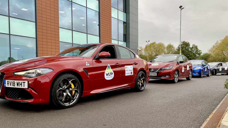 Alfa Romeo Giulia WLTP Challenge