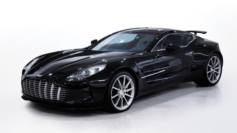 Aston Martin One-77 charity sale