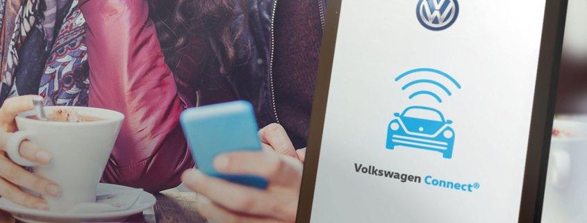 Volkwagen Connect app