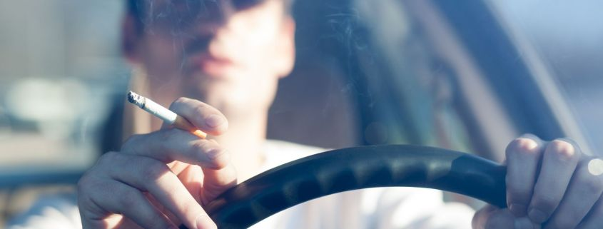 Smoking in cars lowers trade value value