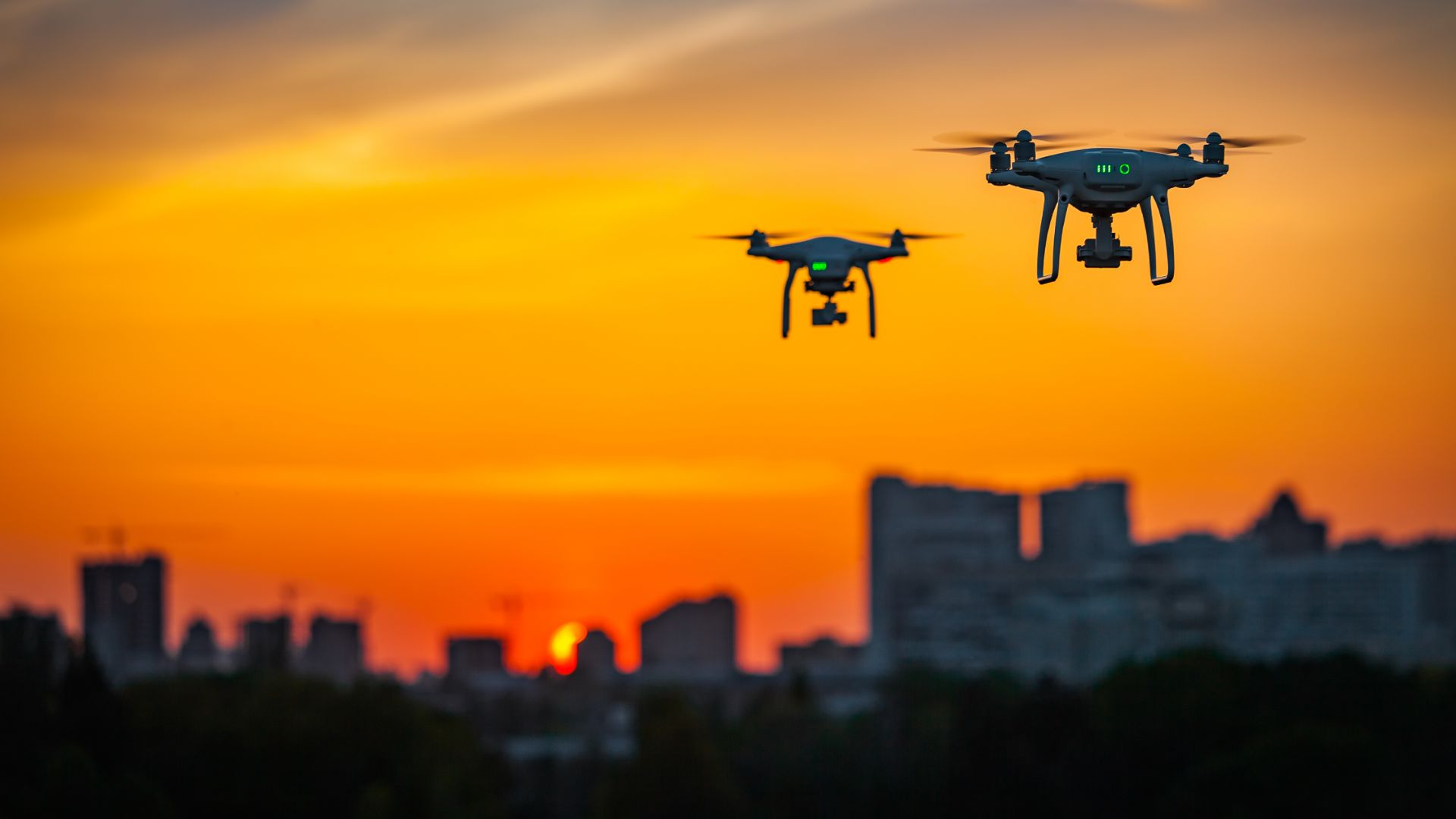 Highways England using DRONES to watch motorway upgrades