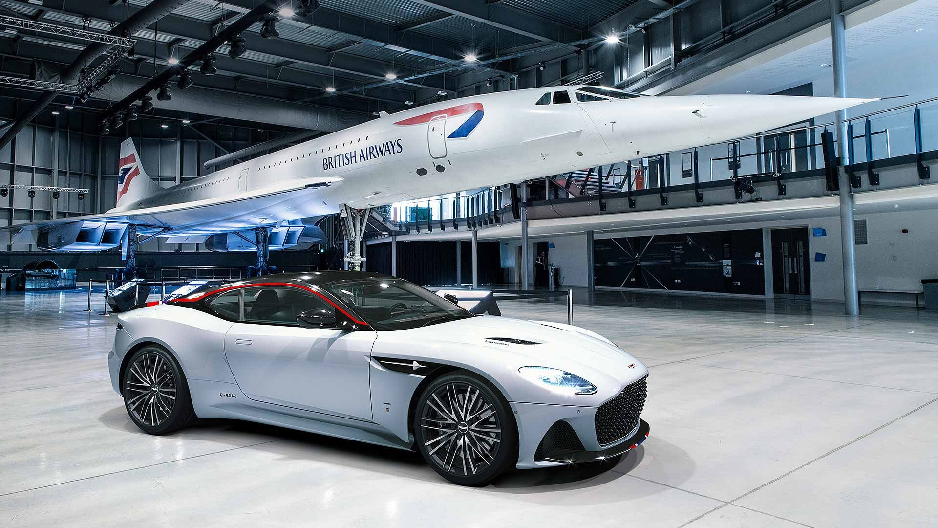 Aston Martin creates ultra-exclusive DBS Superleggera Concorde Edition