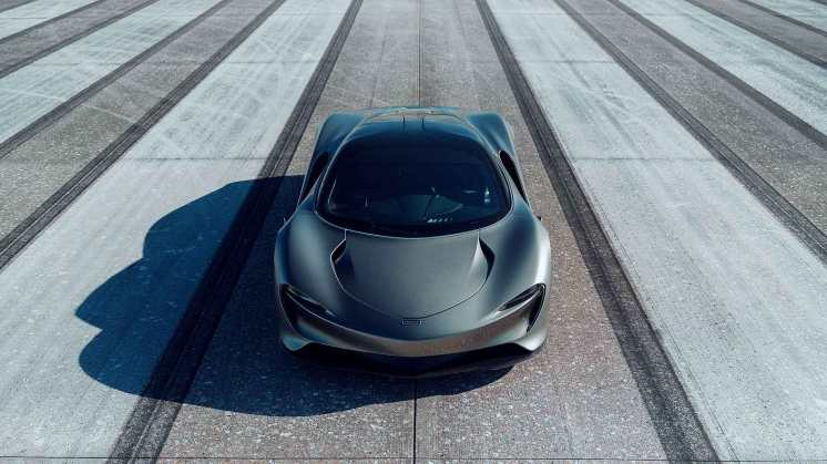McLaren Speedtail during high-speed testing