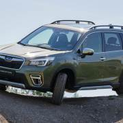 New Subaru Forester hybrid off-road