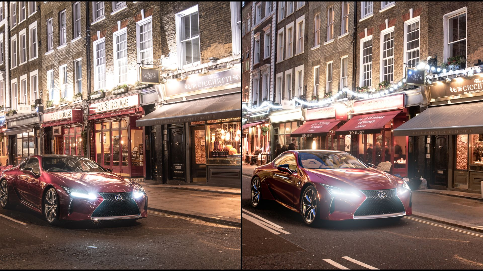 Spot the difference: Lexus in London or Gran Turismo?