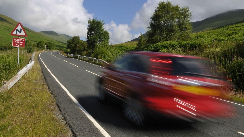 Hotspots for speeding in the UK