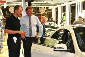 Mercedes-Benz Werk Kecskemét läuft auf Hochtouren