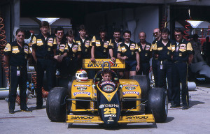 GP Brasile F1 1985 Archivio Minardi Team
