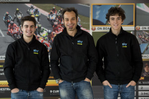 Sky Racing Team (Fenati + Guareschi + Bagnaia)