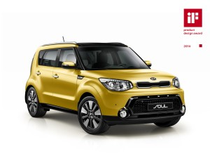 Kia Soul if Product Design Award (Europe market spec)