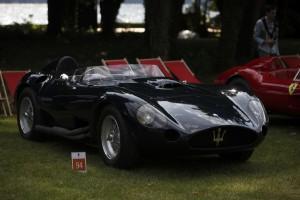 Maserati 450 S 1956. Albert Spiess Villa d'Este 2014