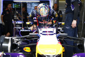 Sebastian Vettel Red Bull Racing RB10 Renault