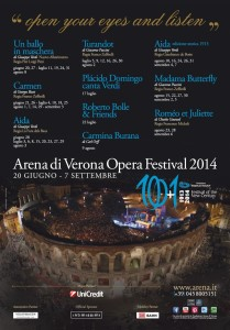 media-Manifesto Arena di Verona 2014