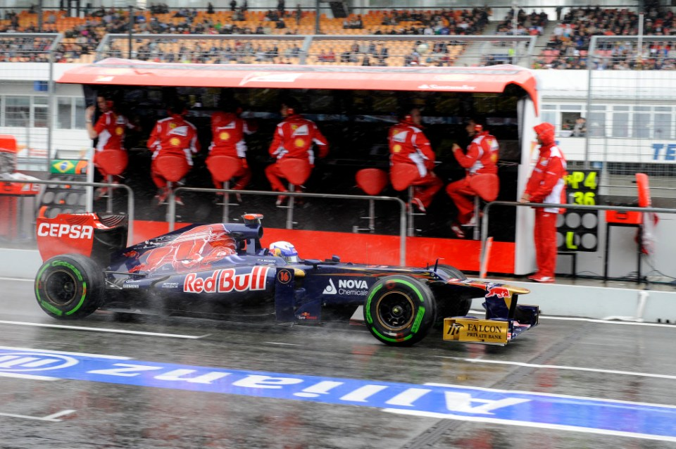 GERMAN GRAND PRIX F1/2012
