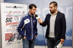 Simone Corsi intervistato alla conferenza