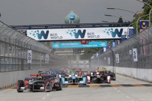 The inaugural Putrajaya ePrix