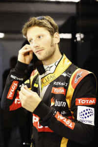 Yas Marina Circuit, Abu Dhabi, United Arab Emirates.Sunday 23 November 2014.Romain Grosjean, Lotus F1.Photo: Alastair Staley/Lotus F1 Team.ref: Digital Image _Y0K8829
