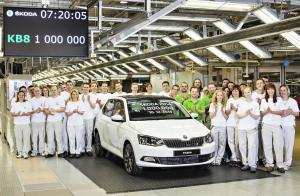 media-141210 1 million SKODA Cars produced in 2014 - 001
