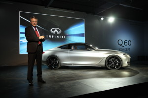 4 -  Infiniti Q60 Concept - MichaelBartch introduces the Q60 Concept in Detroit - 11 Jan 2015