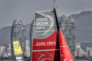 In-Port Race Sanya - Volvo Ocean Race 2014-2015