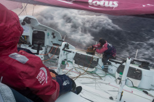 February 11, 2015. Leg 4 to Auckland onboard Team SCA. Day 3.