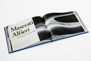 Car Design Review 2 book -Maserati Alfieri 2014 Concept Car of the Year