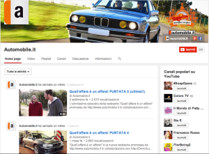 Youtube automobile.it