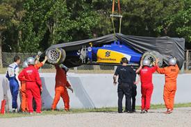 Motor Racing - Formula One Testing -  Barcelona Test - Day Two - Barcelona, Spain