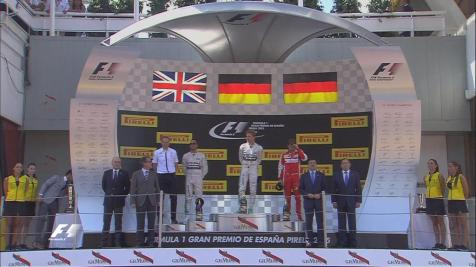 podio spagna 2015