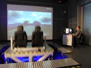 PKW Erprobung, Fahrsimulatoren: Ride-Simulator