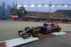 sainz GP SINGAPORE F1/2015