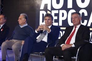 da destra Giampaolo Benedini, Fabrizio Giugiaro, Paolo Pininfarina