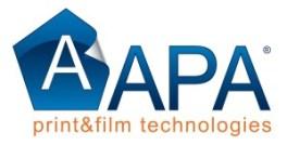 Logo APA blu