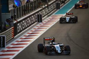 perez Abu Dhabi Grand Prix - Race Day - Abu Dhabi, UAE